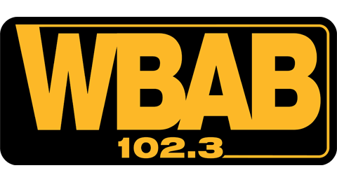 102.3 WBAB - Long Island's Only Classic Rock! Logo